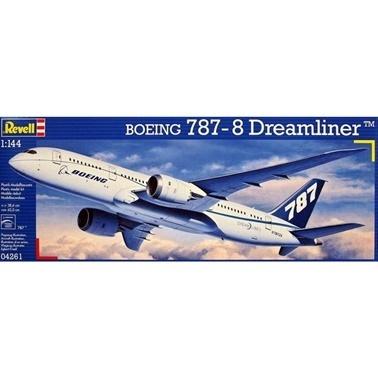Revell Revell Maket 1:144 Boeing 787-8 Dreamliner  Renkli